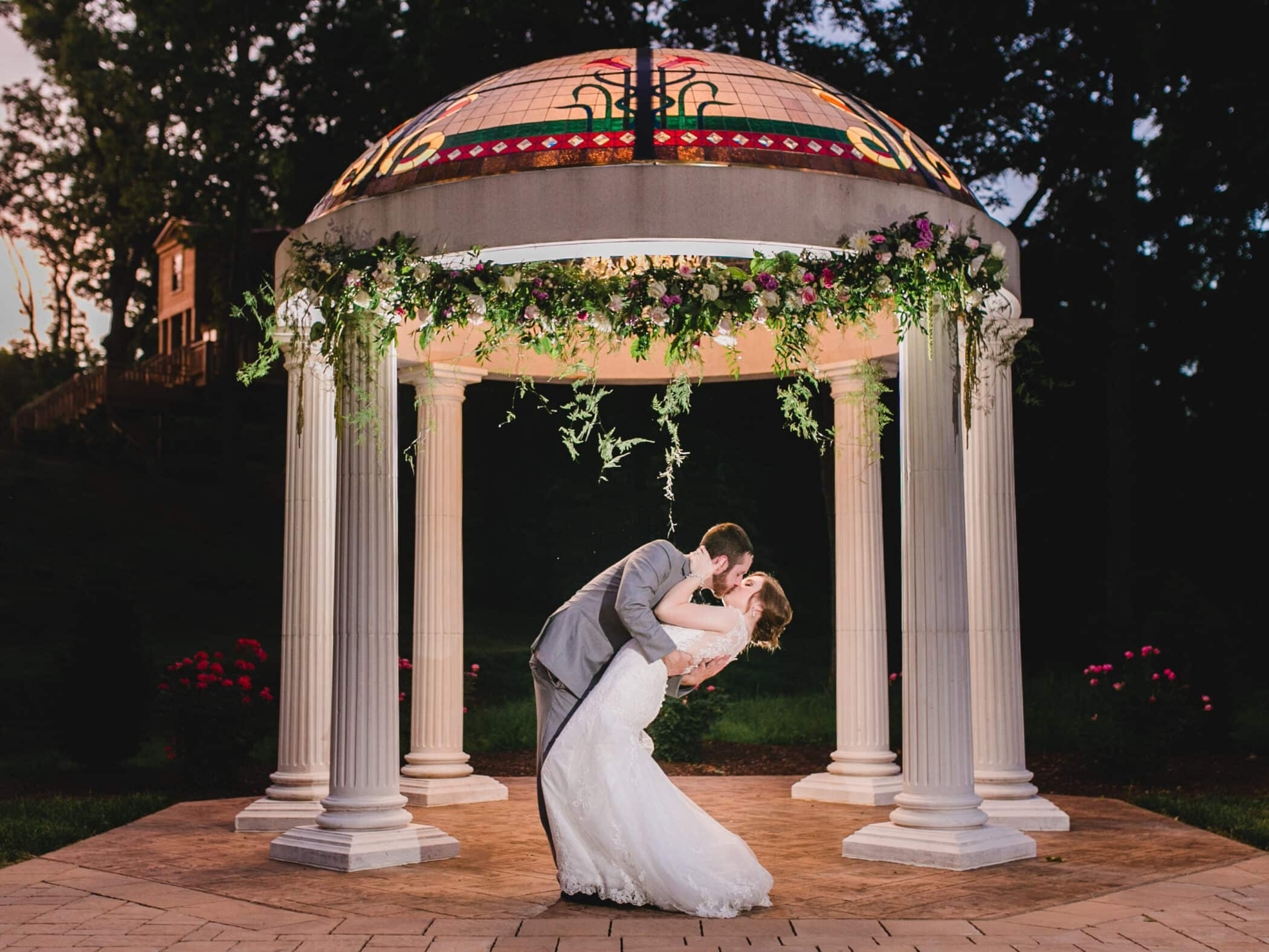 Selecting Your Virginia Wedding Venue | Entwined Events | Venue: Bella Rose Plantation in Lynchburg, VA | Photo Credit: April B Photography